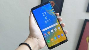 Samsung Galaxy A9 (2018) first impressions display