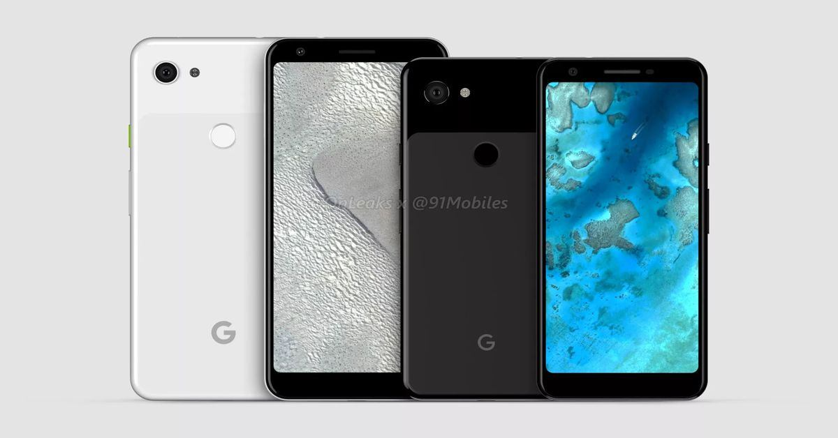 Check out Google's Pixel 3 Lite XL renders leak
