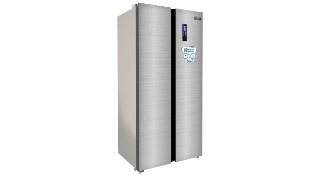 mitashi 510 litres side-by-side inverter refrigerator