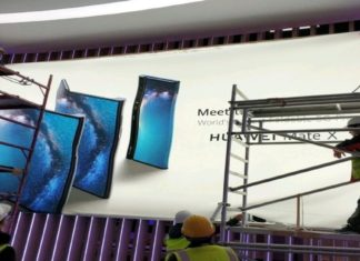 Huawei's foldable phone – Huawei Mate X poster revealed