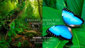 Huawei teased Lossless Zoom in their upcoming P30 series