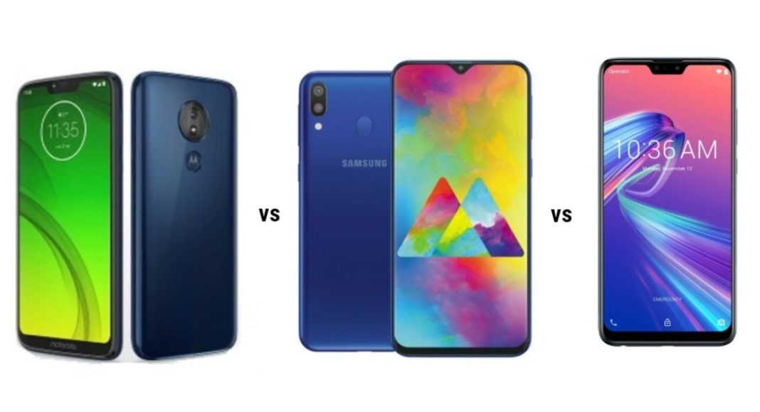Moto G7 Power comparison