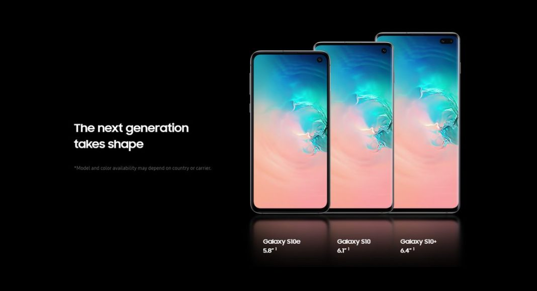 Samsung Galaxy S10, Galaxy S10+ and Galaxy S10e price in India leaked