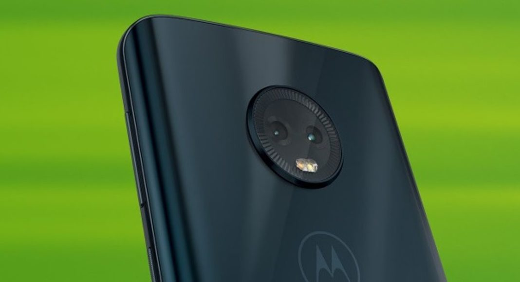 Moto G7 Plus fingerprint sensor