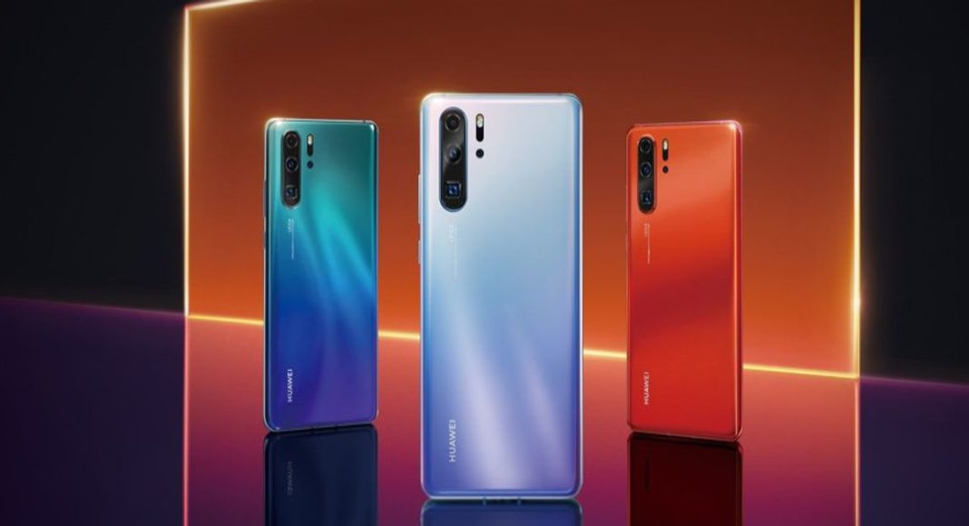 Huawei P30 and Huawei P30 Pro images leaked before launch