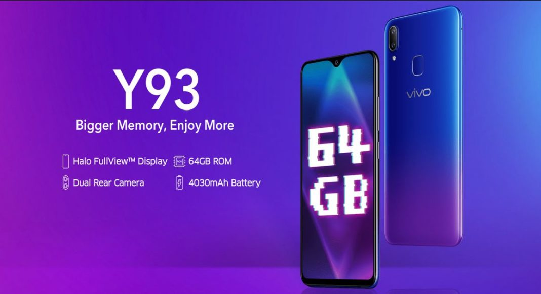 Vivo Y93 and Vivo Y95  price in India slashed by Rs 1,000