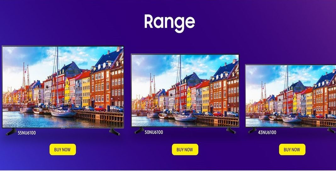 Samsung launches new UHD TV series with Super6 features starting from Rs 41,990