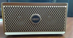 Ubon SP-50 Wooden Wireless Bluetooth Speaker