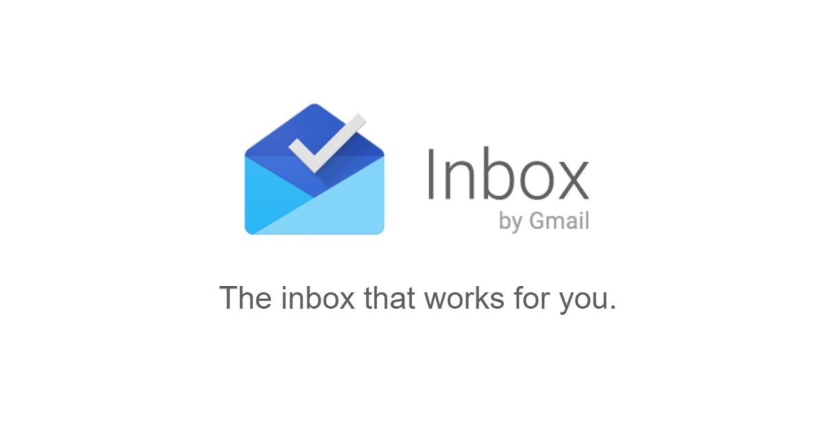 Inbox by Gmail's older versions have stopped working