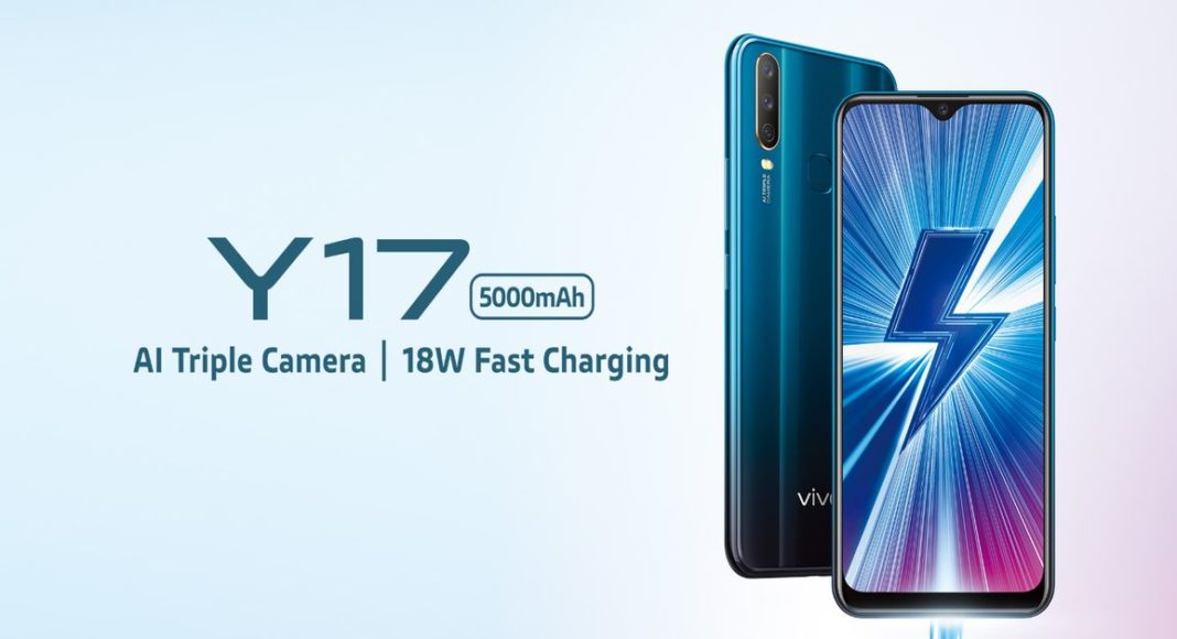 Vivo Y17 receives a discount in India