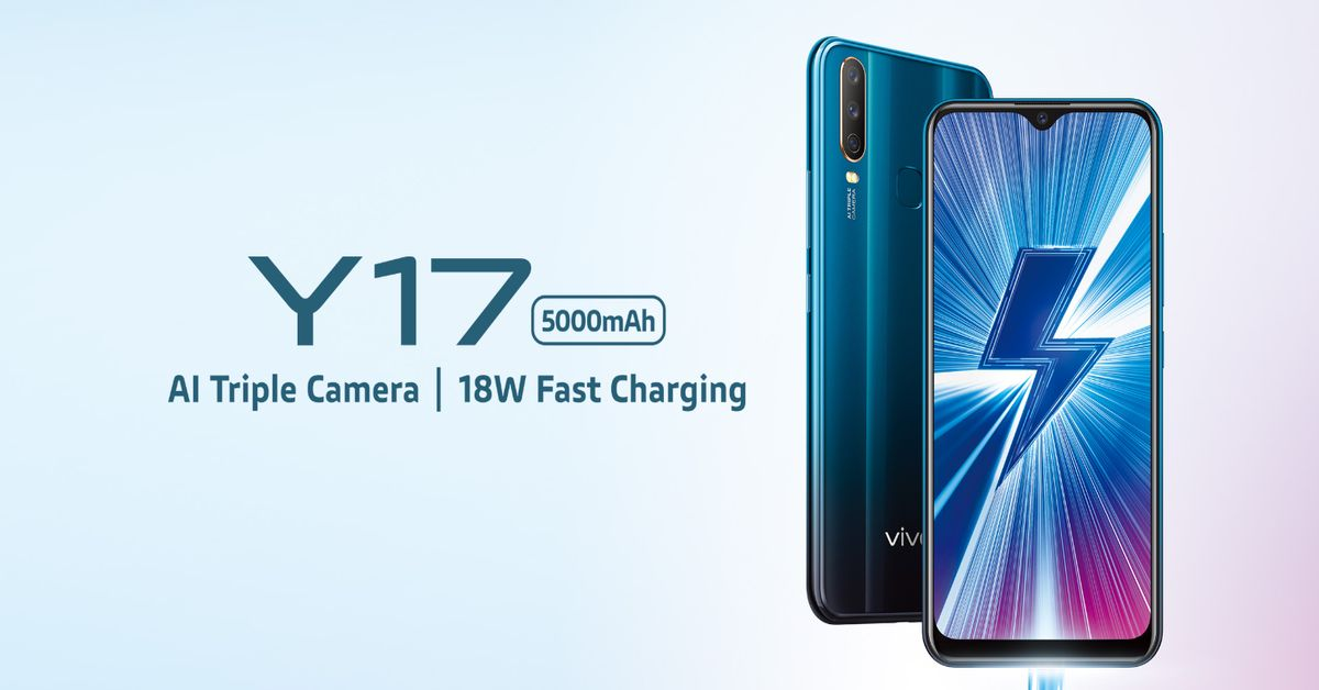 2c4c1edd296 Vivo Y17 finally launched in India  Price and specifications revealed
