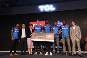 TCL and Delhi Capitals..