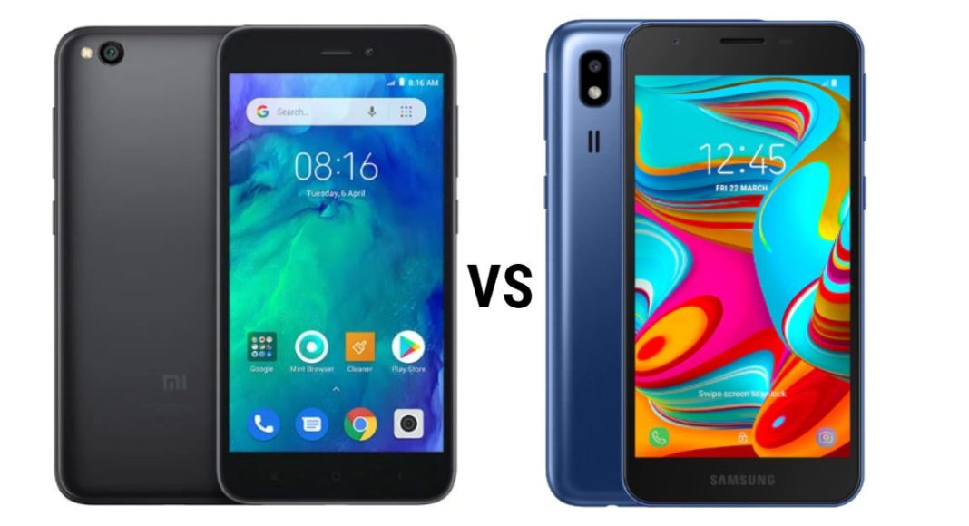 Xiaomi Redmi Go vs Samsung Galaxy A2 Core (1)