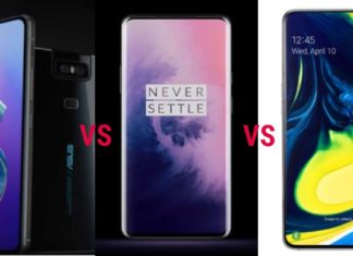 Compare_ Asus Zenfone 6 and OnePlus 7 Pro and Samsung Galaxy A80