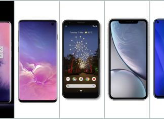 OnePlus 7 Pro vs Samsung Galaxy S10 vs Google Pixel 3a XL vs iPhone XR vs Honor View 20 (1)