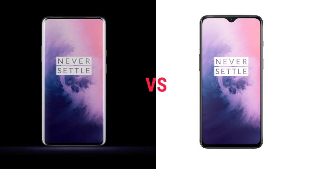 compare oneplus 7 pro and oneplus 7 (1)