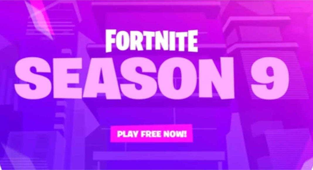 fortnite season 9 game