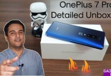 OnePlus 7 Pro detailed unboxing