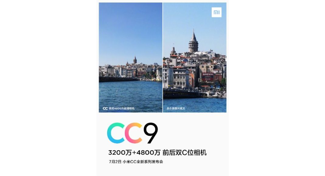 Xiaomi Mi CC9 to pack a 48MP rear camera and 32MP selfie sensor