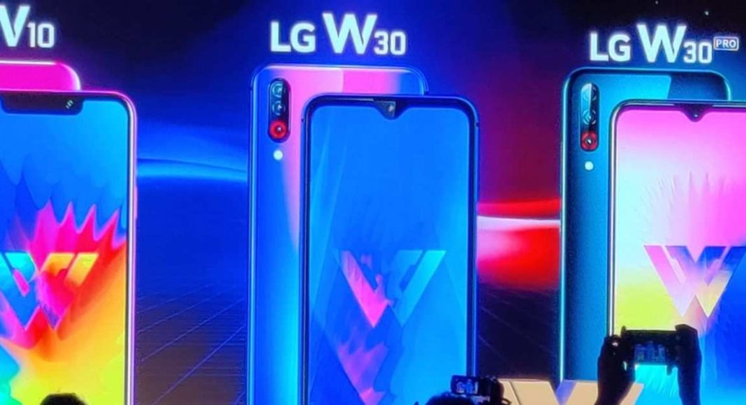 LG W30 Pro, W30 and W10 smartphones launched in India