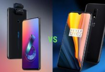 Compare Asus 6Z and OnePlus 7