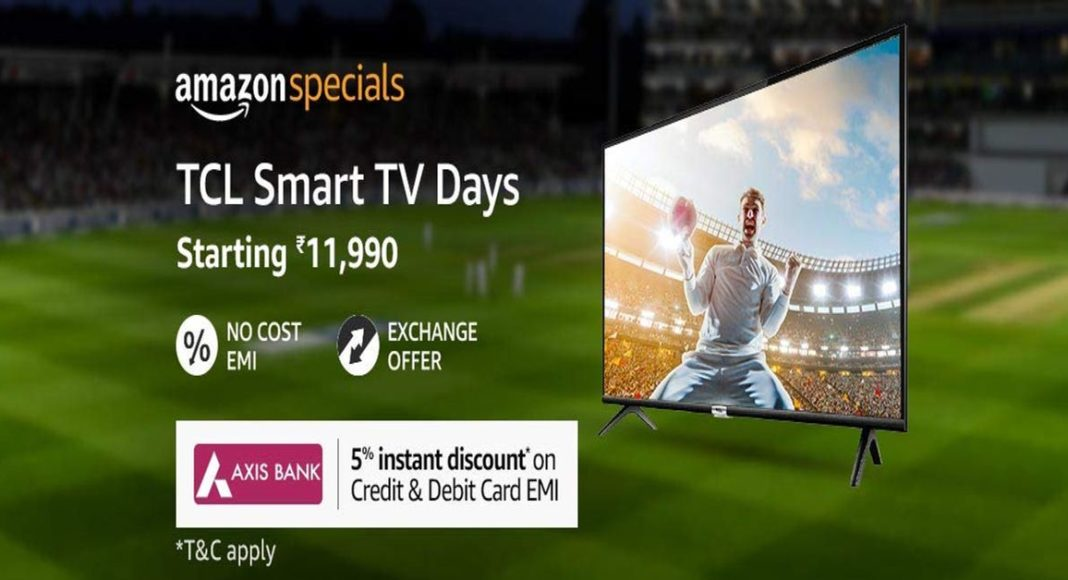 TCL smart TV sale Amazon