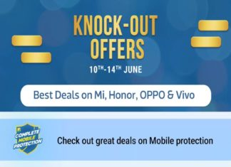 Flipkart Knock-Out Offers sale