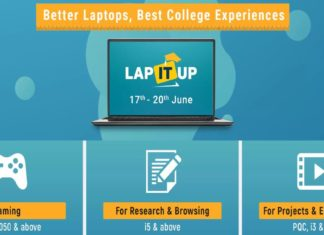 flipkart lap it up sale is currently live
