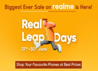 Realme leap days sale