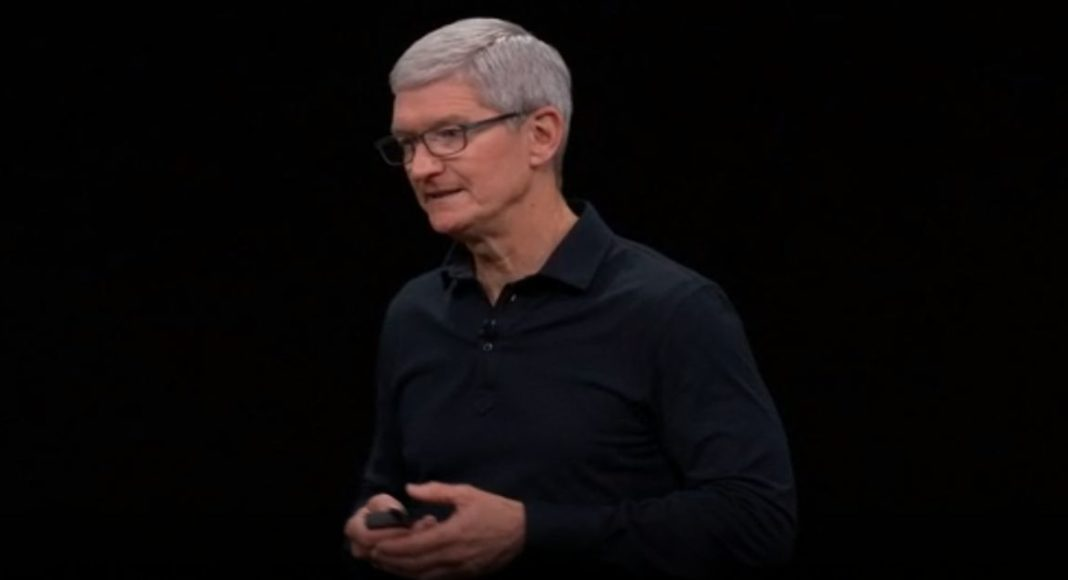 Apple CEO Tim Cook takes a jab at Android Pie while comparing it to iOS 12 at WWDC 2019