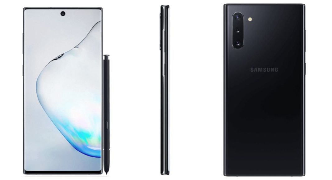 Samsung Galaxy Note 10+ renders 2