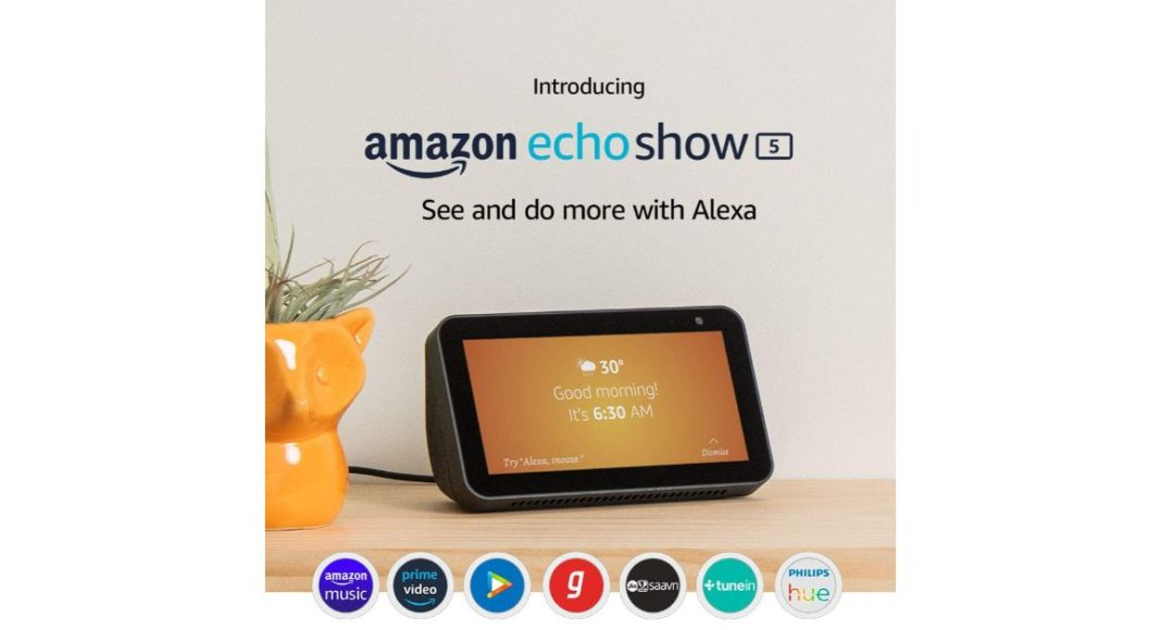Amazon Echo Show 5 sale