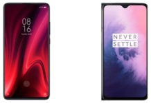 Compare: Redmi K20 and OnePlus 7