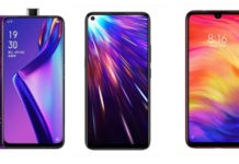 Comparison Oppo K3, Vivo Z1 Pro and Redmi Note 7