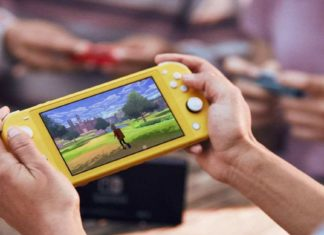 Nintendo Switch Lite launch