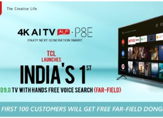 TCL P8E 4K HDR TV launched
