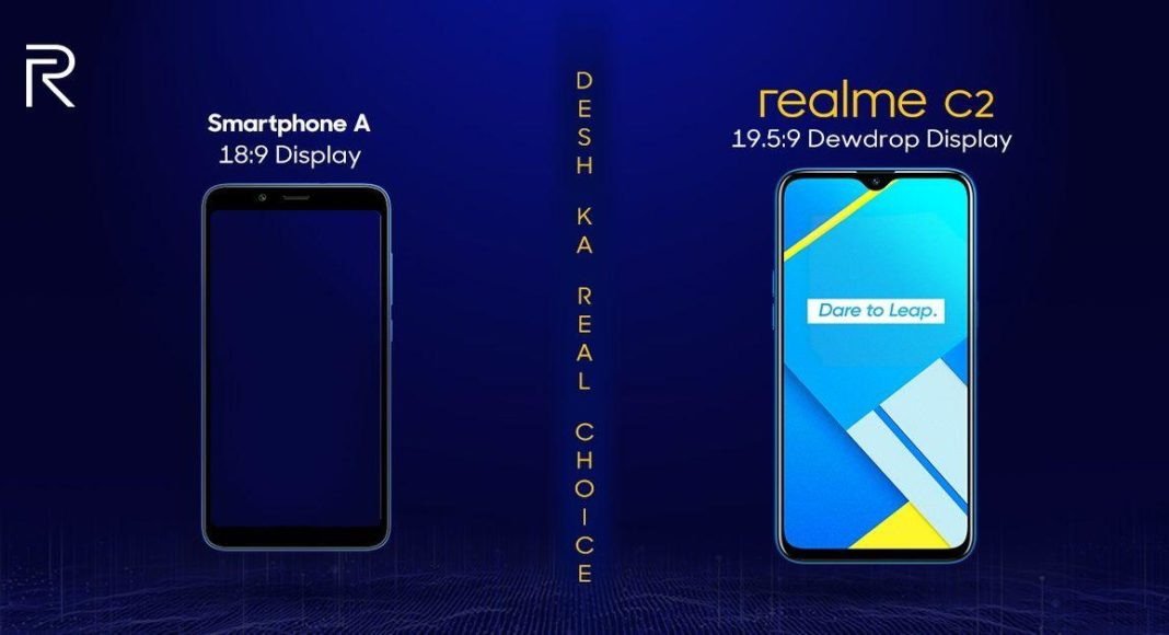 Realme India CEO Madhav Sheth pokes fun at Redmi 7a