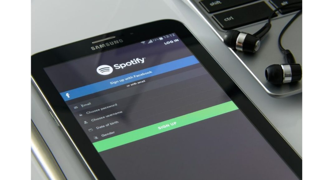 spotify music streaming app