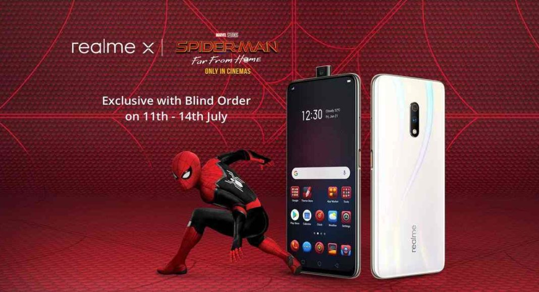 Realme X Spiderman: Far From Home Edition