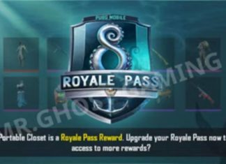 pubg mobile season 8 royale pass