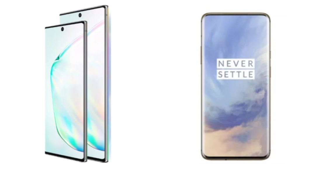 Samsung Galaxy Note 10+ smartphone comparison