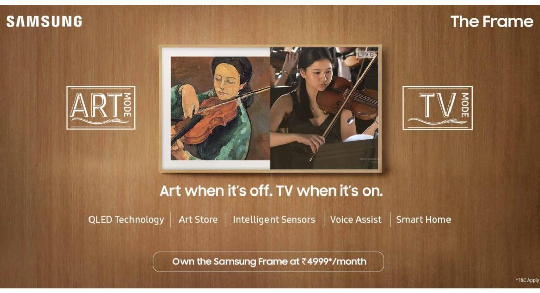 amsung launched the exclusive range of The Frame and Smart 7-in-1 TVs in India
