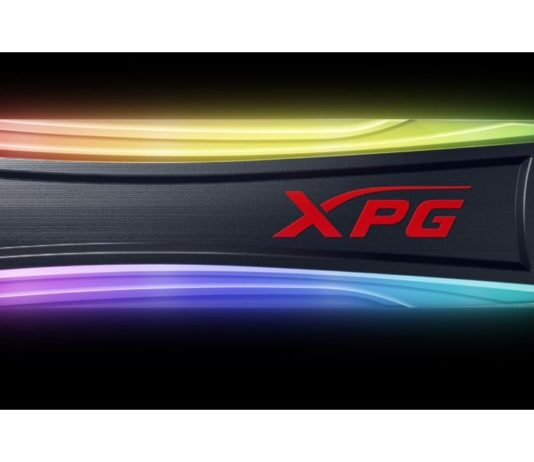 XPG SPECTRIX S40G RGB gaming SSD launched