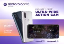 Motorola One Action launch