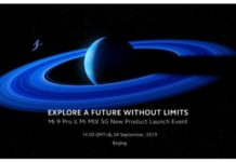 Xiaomi to introduce Mi 9 Pro 5G and Mi Mix 5G on September 24