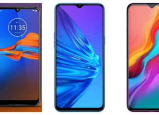 Compare: Moto E6S, Realme 5 and Infinix Hot 8