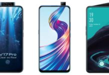 Compare: Vivo V17 Pro, V15 Pro and Oppo Reno 2