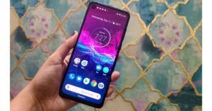 Motorola One Action Front