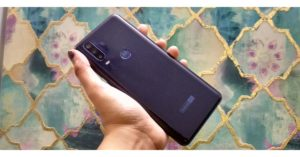 Motorola One Action Rear