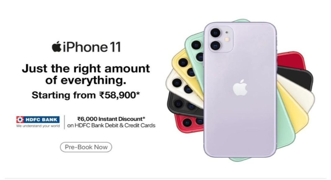 Apple iPhone 11 series now available on Paytm Mall for pre-order and cashback